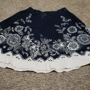 LIMITED TOO discontinued skirt